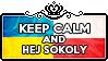 Keep Calm and Hej Sokolay by ChokorettoMilku