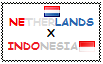 .: Netherlands x Indonesia Stamp by ChokorettoMilku