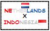 .: Netherlands x Indonesia Stamp by ChokorettoMilku