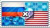 APH: Russia x USA Stamp by ChokorettoMilku