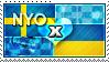 APH: Nyo!Sweden x Ukraine Stamp by ChokorettoMilku