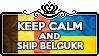 Keep Calm and Ship BelgUkr by ChokorettoMilku
