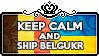 Keep Calm and Ship BelgUkr by ChokorettoMilku