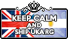 Keep Calm and Ship UKArg by ChokorettoMilku