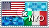 APH: USA x Nyo!Italy Stamp by ChokorettoMilku
