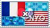 APH: France x Nyo!USA Stamp by ChokorettoMilku