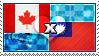 APH: Canada x Taiwan Stamp by ChokorettoMilku