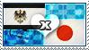 APH: Prussia x Japan Stamp by ChokorettoMilku