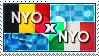 APH: Nyo!Belgium x Nyo!South Italy Stamp by ChokorettoMilku