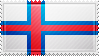 Faroe Islands Flag Stamp by ChokorettoMilku