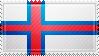 Faroe Islands Flag Stamp by ChokorettoMilku