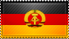 GDR Flag Stamp by ChokorettoMilku