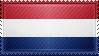Netherlands Flag Stamp by ChokorettoMilku