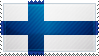 Finland Flag Stamp by ChokorettoMilku