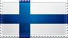 Finland Flag Stamp by ChokorettoMilku