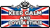 Keep Calm and Love Arthur
