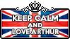 Keep Calm and Love Arthur by ChokorettoMilku