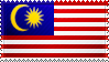 Malaysia Flagf Stamp by ChokorettoMilku