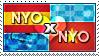 APH: Nyo!Spain x Nyo!Vietnam Stamp by ChokorettoMilku