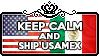 Keep Calm and Ship UsaMex by ChokorettoMilku