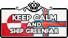 Keep Calm and Ship GreenFar by ChokorettoMilku