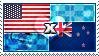 APH: USA x New Zealand Stamp by ChokorettoMilku