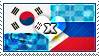 APH: South Korea x Philippines Stamp by ChokorettoMilku