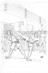 fightin' stance by ajrjr13