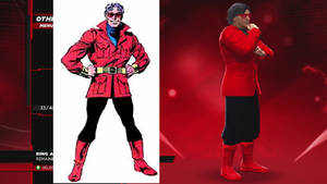 WWE 2K14 Wonder Man CAW