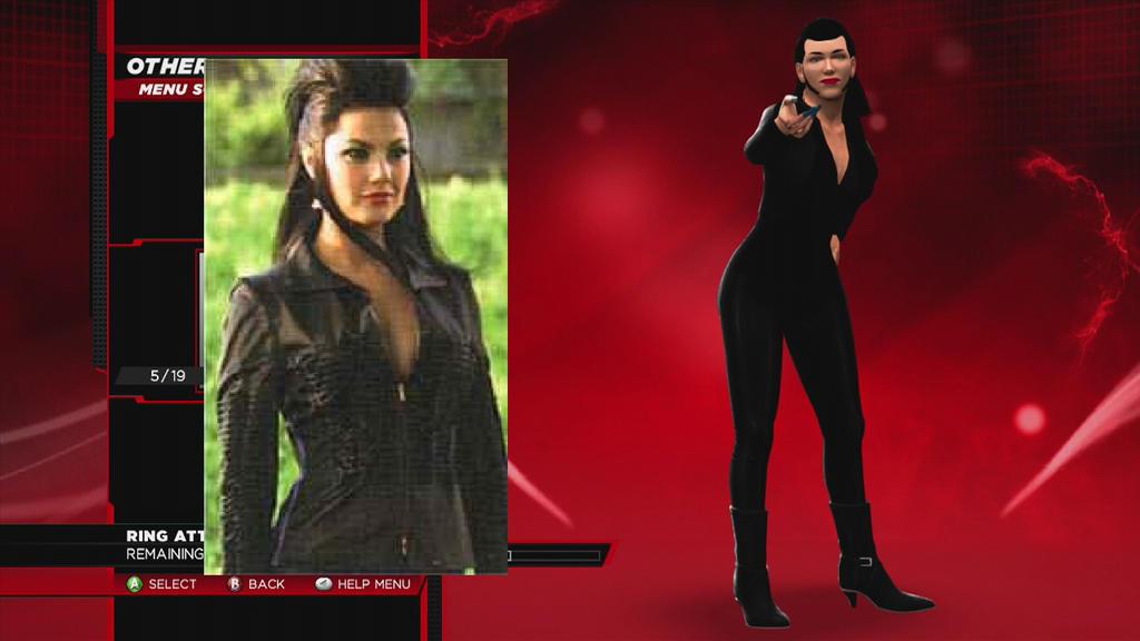 WWE 2K14 Typhoid (Mary) 'Elektra' 2005 CAW by wallbie on ...