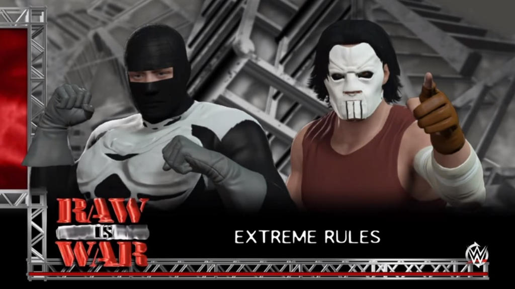 WWE 2K16 Lock-Up vs Casey Jones Extreme Rules by wallbie on