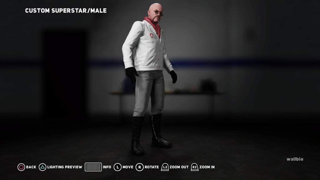 Dr. Mindbender WWE 2K18 CAW