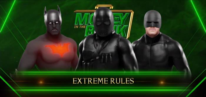 WWE 2K19 Snake Eyes vs Batman vs Daredevil