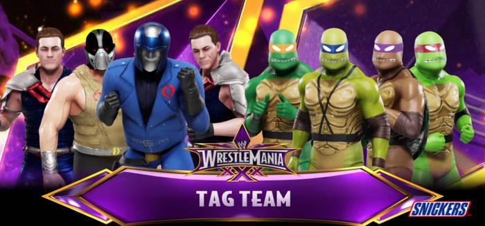 WWE 2K19 Cobra vs TMNT
