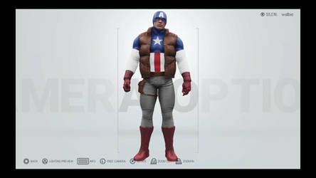 WWE 2K19 Ultimate Captain America Marvel Legends