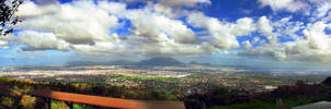 Panoramic cape town by Justinlite