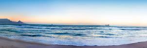 Beach Panoramic Photo