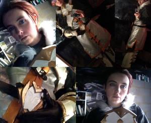 DA2: Sebastian Vael cosplay progress