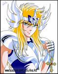Hyoga primera armadura