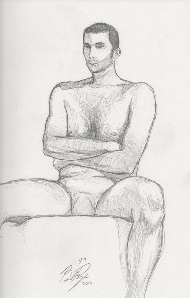 It is an image of Transformative Male Sitting Poses Drawing