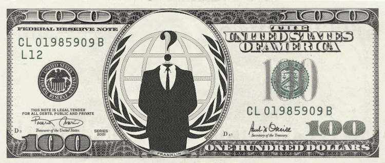 Anonymous 100 dollar bill by anonymouslegion2012 on deviantart anonymous 100 dollar bill by anonymouslegion2012 voltagebd Choice Image