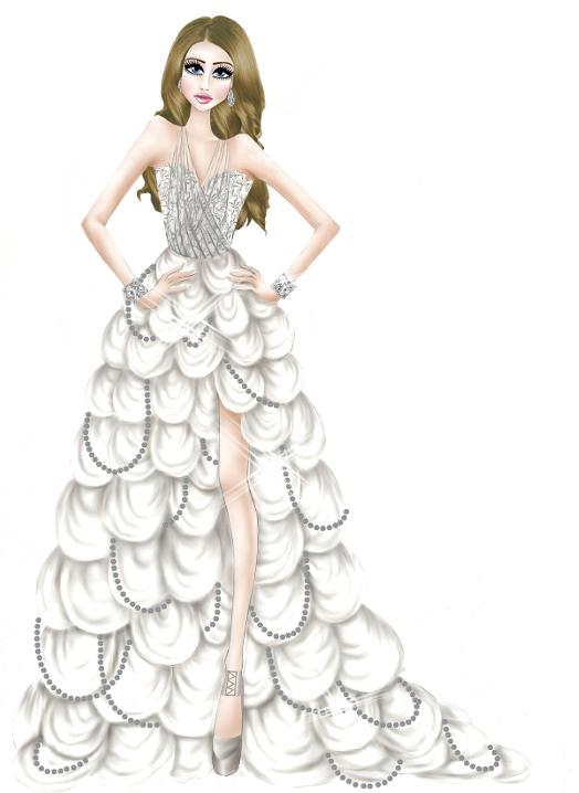 White Dress Fashion Design by TwISHHFashion Design Dresses 2013