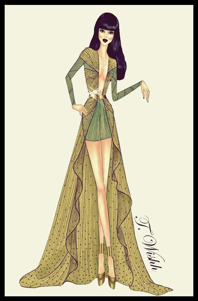 Fashion Design Dress 4 By Twishh On Deviantart