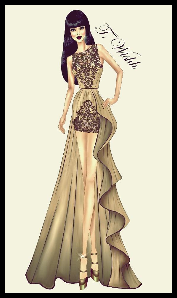 Fashion Design Dress 5 By Twishh On Deviantart