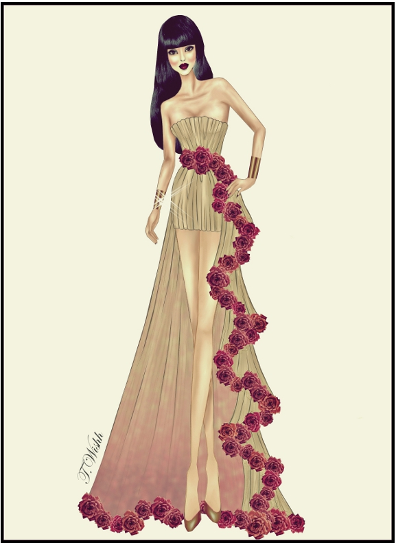 Fashion Design Dress 8 By Twishh On Deviantart
