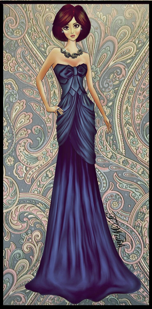 Fashion design dress by twishh on deviantart for Dress dizain photo