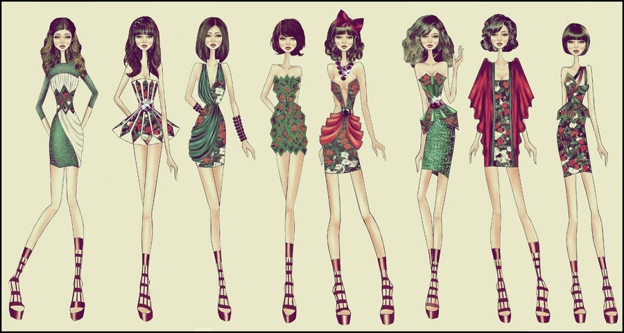 fashion designer dresses