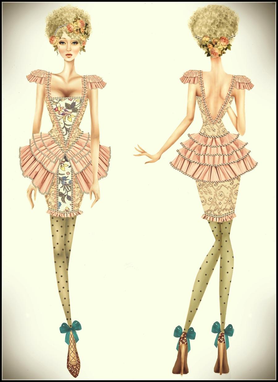 Rococo Inspiration Fashion By Twishh On Deviantart