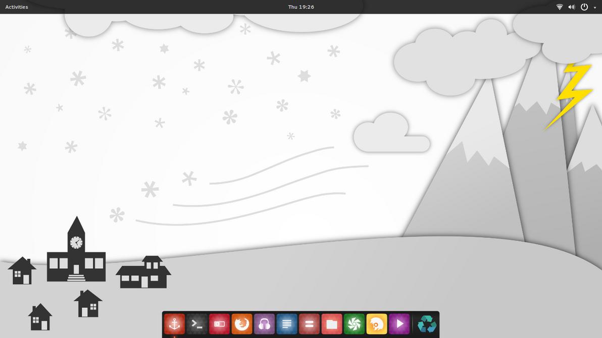 Numix Desktop by Hyarmenadan