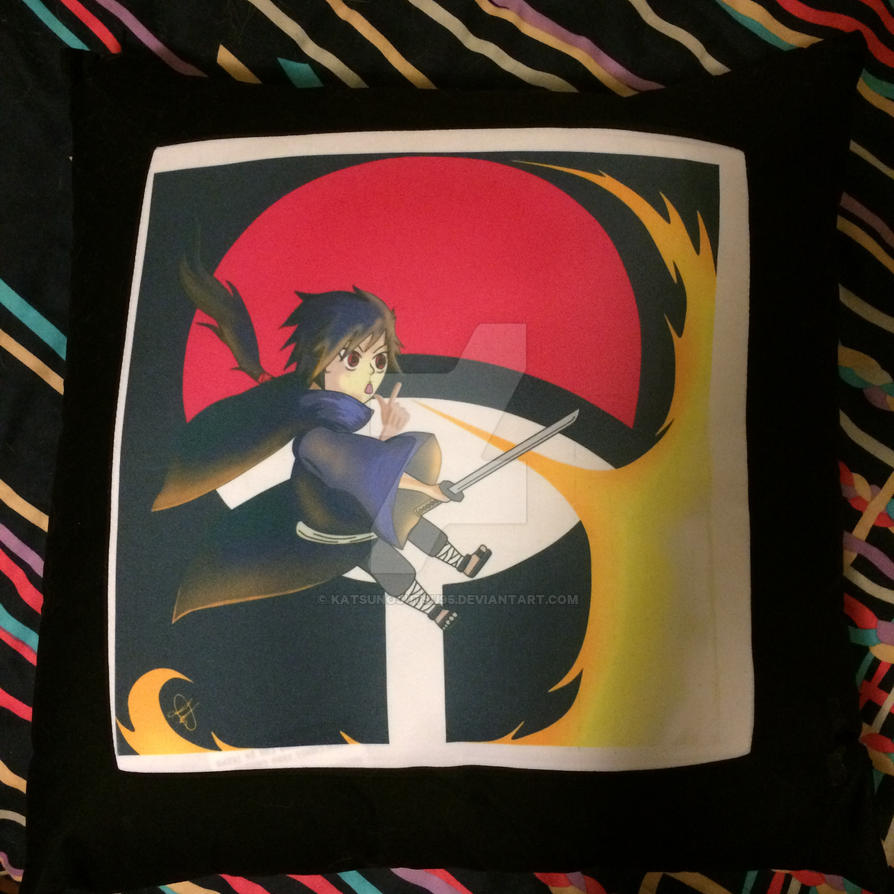 Izuna throw pillow. by KatsuNoJutsu95